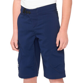 100% Ridecamp Shorts Youth, navy